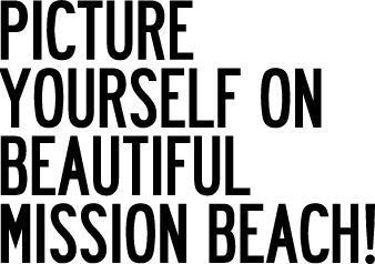 Picture Yourself on Beautiful Mission Beach!